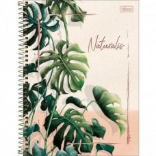 Caderno C/D 10 Materias Naturalis 160 Folhas Tilibra