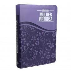 Bmv - Bíblia Da Mulher Virtuosa - Roxo