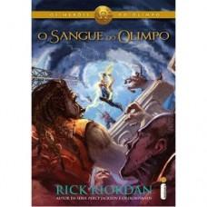 O Sangue do Olimpo - Série Os Heróis do Olimpo  Vol.5 - Rick Riordan