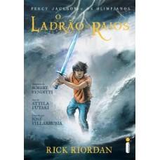 O Ladrão de Raios - Rick Riordan - Graphic Novel (HQ)