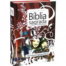Bíblia Edição com Notas para Jovens NTLH - Vermelha