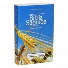 Bíblia Letra gigante RA - Capa brochura trigo.