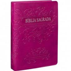 Bíblia letra grande RA com índice - Cor Uva -  RA045LG