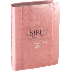 A Bíblia da Mulher - RC - Rosa 7899938403556
