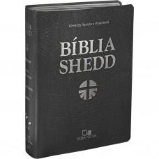 Bíblia Shedd - Luxo Preta - RA