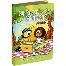 Bíblia Explicada Para Crianças com Ilustrações Mig & Meg - Capa dura