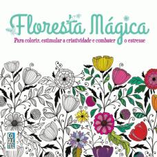 Floresta Magica - Livro de colorir