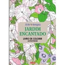 Jardim Encantado - Livro de colorir antiestresse