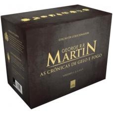 Box As Crônicas De Gelo e Fogo – Pocket – 5 livros - George R. R. Martin - 9788544106686