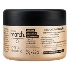 Match Mascara Pre Shampoo Fonte de Hidratacao 85g O Boticario
