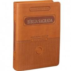 Bíblia Sagrada Letra Grande RA - Marrom Claro  RA045LGT