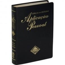 Bíblia de Estudo Aplicação Pessoal Grande RC- Luxo Preta