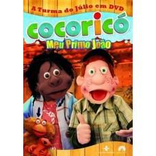 Cocorico - Meu primo Joao - DVD original -