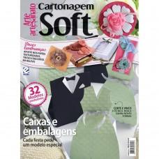 Revista Arte e artesanato especial Cartonagem soft - edicao 4