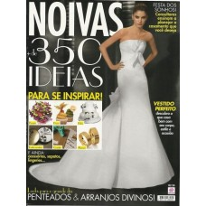 Revista Noivas 350 ideias para se inspirar