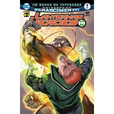 Lanternas Verdes - Em busca de esperança - Universo DC renascimento -  Vol. 9 - 789765352814109