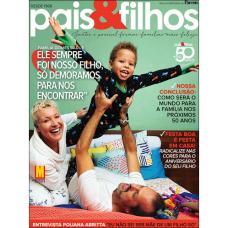 Revista Pais & Filhos  - Assinatura - 6 Meses 6 Edições frete gratis