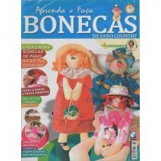 Revista Bonecas de Pano country - Passo a passo e moldes - edição 19