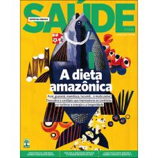 Revista Saude - Assinatura - 6 Meses 6 Edições frete gratis